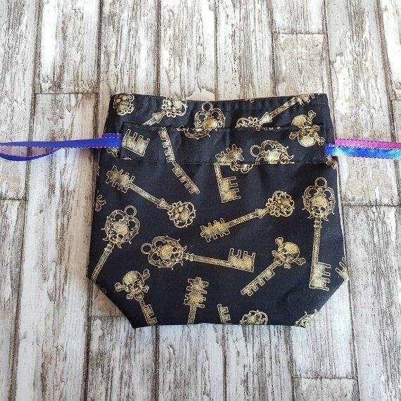 Skull Keys Eco-Friendly Reusable Drawstring Gift Bag Storage Bag Kind Shop 4