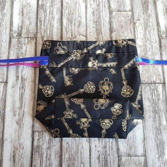 Skull Keys Eco-Friendly Reusable Drawstring Gift Bag Storage Bag Kind Shop 5