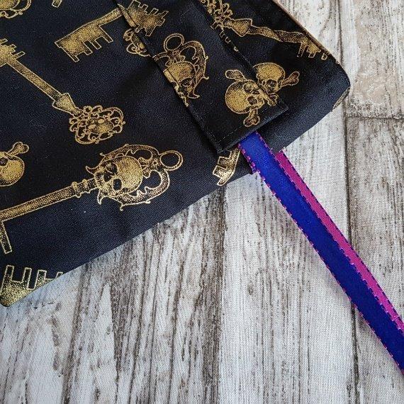 Skull Keys Eco-Friendly Reusable Drawstring Gift Bag Storage Bag Kind Shop 6