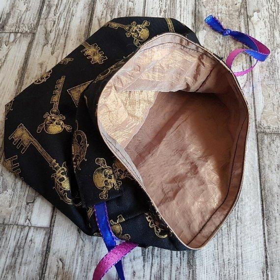 Skull Keys Eco-Friendly Reusable Drawstring Gift Bag Storage Bag Kind Shop 7