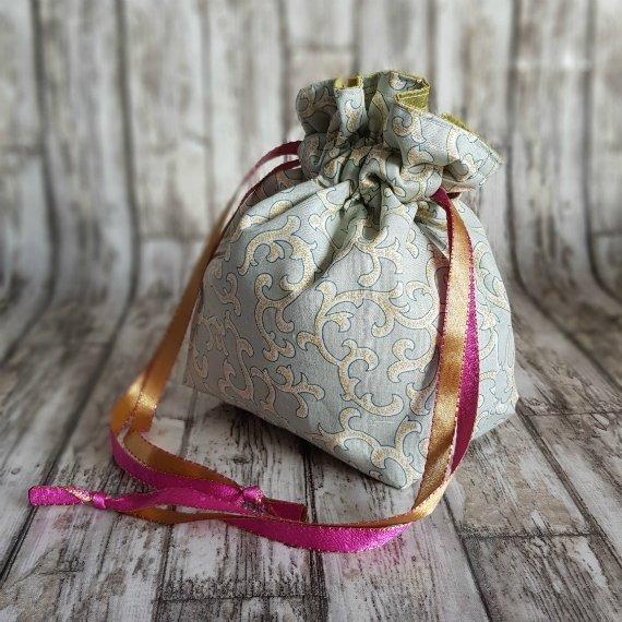 Tribal Swirls Eco-Friendly Reusable Drawstring Gift Bag Storage Bag Kind Shop