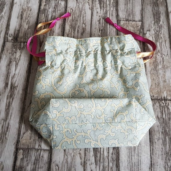 Tribal Swirls Eco-Friendly Reusable Drawstring Gift Bag Storage Bag Kind Shop 5
