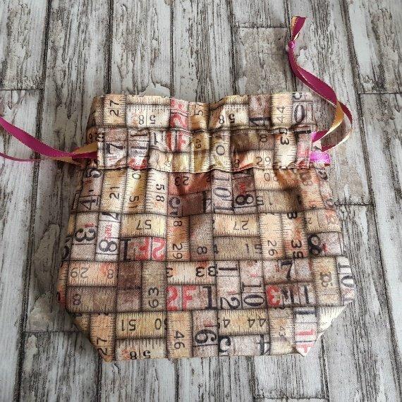 Vintage Rulers Eco-Friendly Reusable Drawstring Gift Bag Storage Bag 1 Kind Shop 4