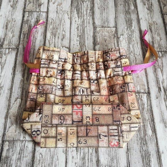 Vintage Rulers Eco-Friendly Reusable Drawstring Gift Bag Storage Bag 1 Kind Shop 5