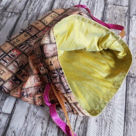 Vintage Rulers Eco-Friendly Reusable Drawstring Gift Bag Storage Bag 1 Kind Shop 7