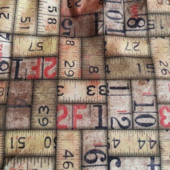 Vintage Rulers Eco-Friendly Reusable Drawstring Gift Bag Storage Bag 1 Kind Shop 9