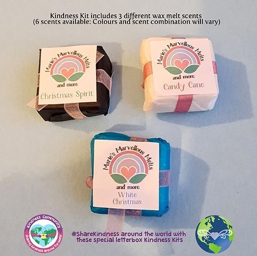 Wax melts kindness kit parcel kindpreneurs
