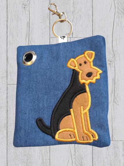 Airedale Eco Plastic Free Dog Poo Bag Holder Kind Shop 2