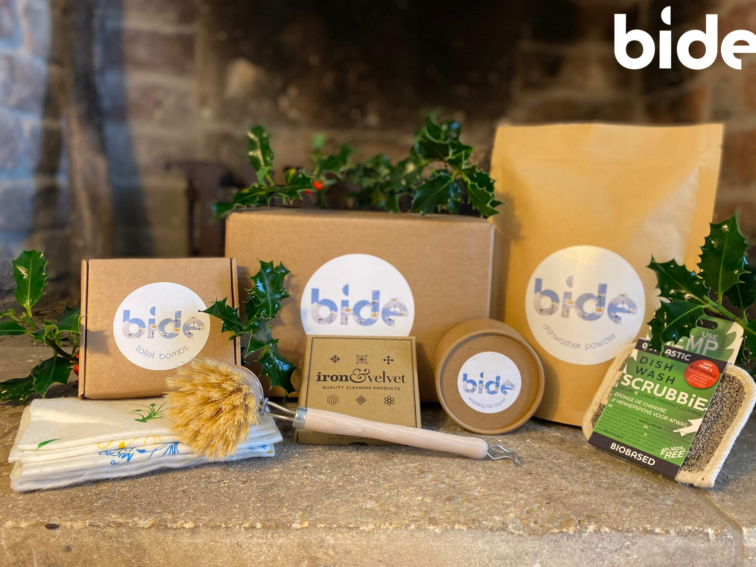 Eco Friendly Cleaning Products, Plastic Free – Christmas Ultimate Bide Box