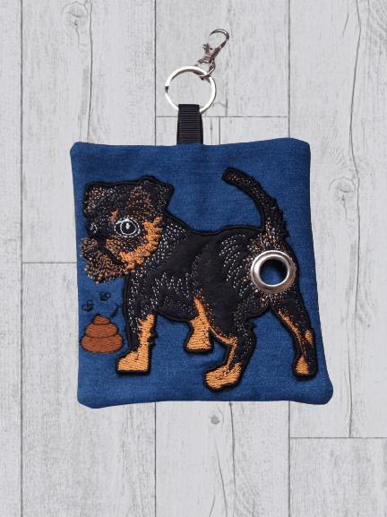 Brussels Griffon Eco Plastic Free Dog Poo Bag Holder Kind Shop 2