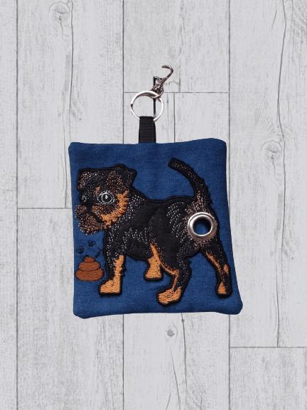 Brussels Griffon Eco Plastic Free Dog Poo Bag Holder Kind Shop