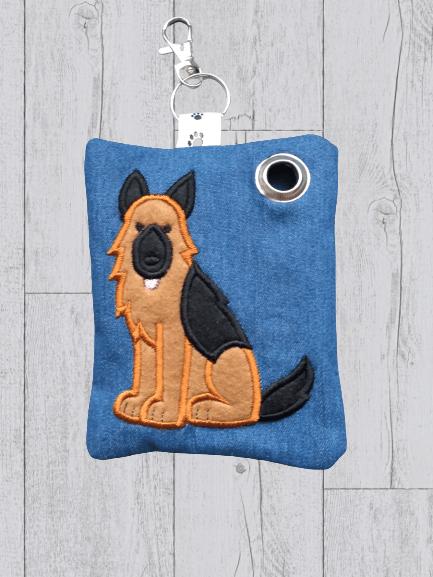 German Dog Eco Plastic Free Dog Poo Bag Holder – Brown & Black Kind Shop 2