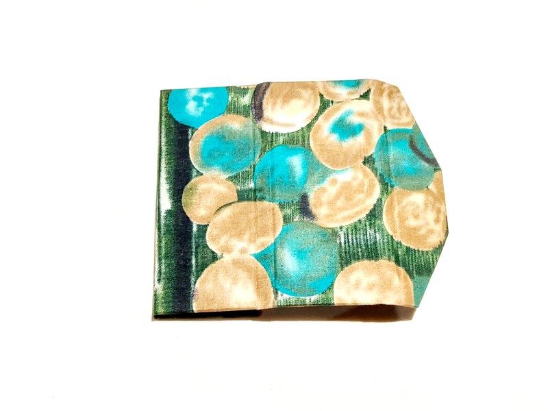 Green & gold batik glasses case Kind Shop 3