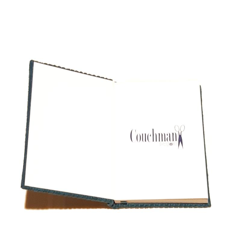 A5 Blank Notebook Covered With Gold Silk Fabric – Zero Waste Kind Shop 4