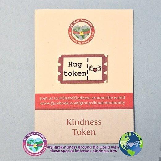 hug kindness token kindpreneurs