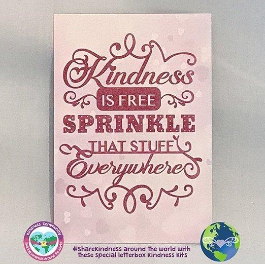 kindness is free sprinkle that stuff everywhere kindpreneurs