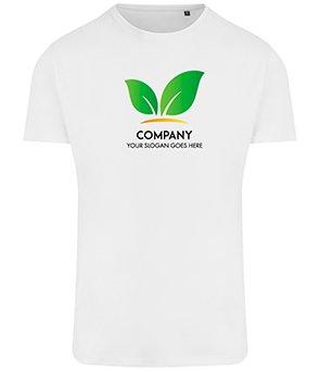 Business Logo Custom T Shirt Eco Friendly Gym Running Top for Men Kind Shop
