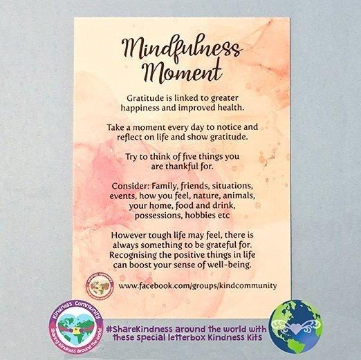 mindfulness moment gratitude kindpreneurs