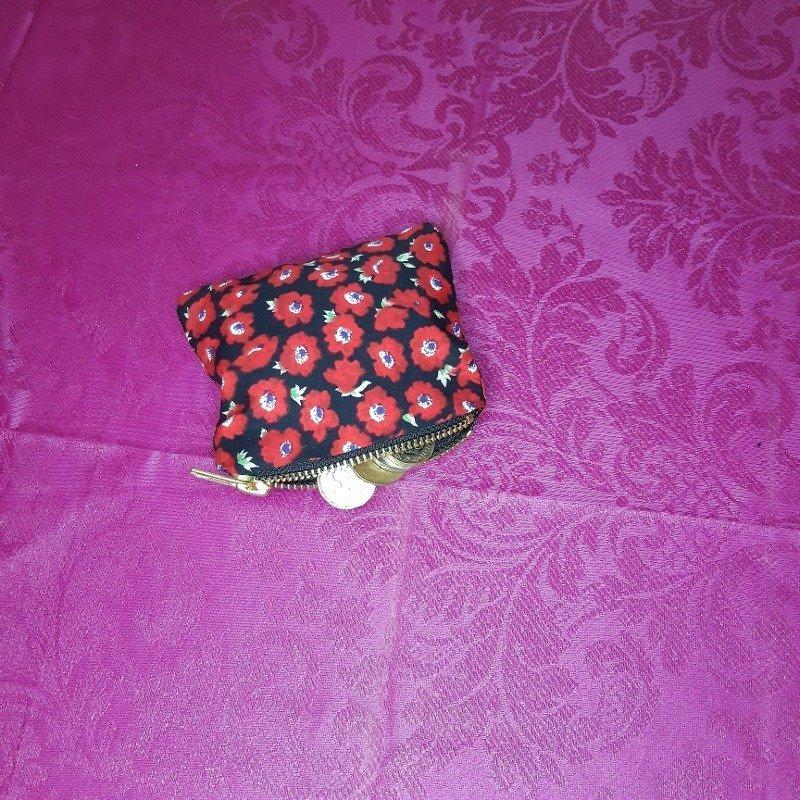 Red flower purse Kind Shop 2