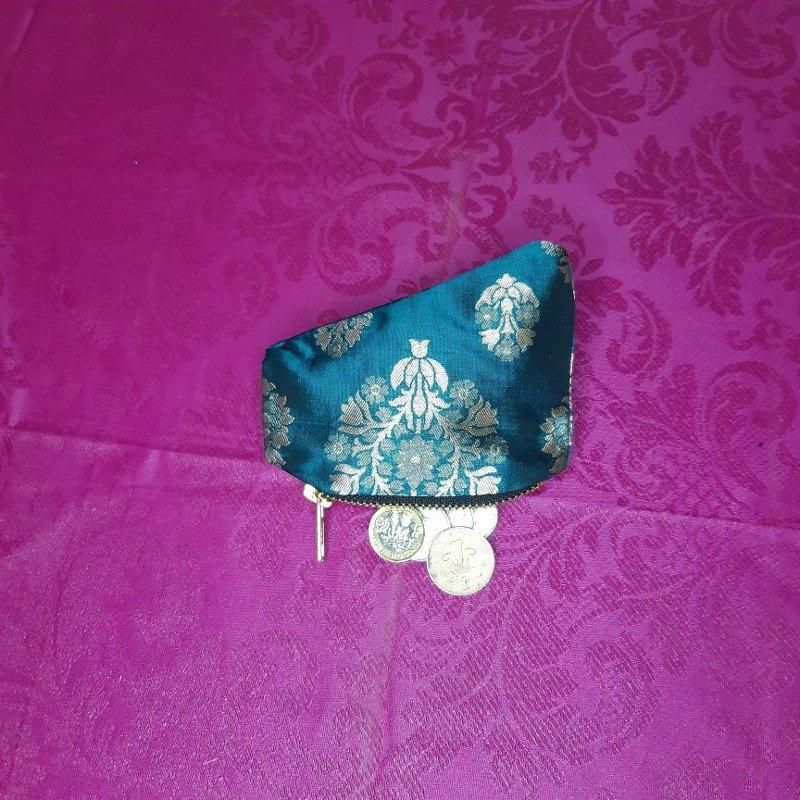 Turquoise silk purse Kind Shop 2