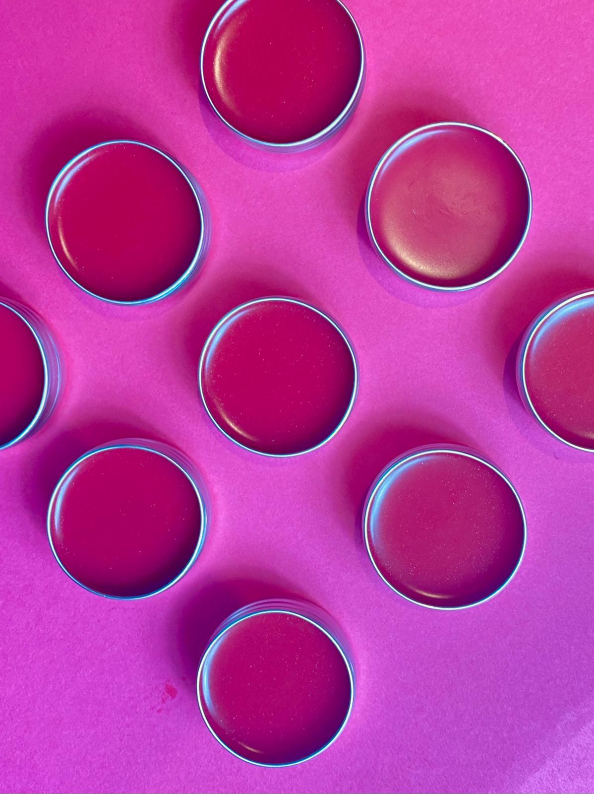 Rose lip tint balm jelly
