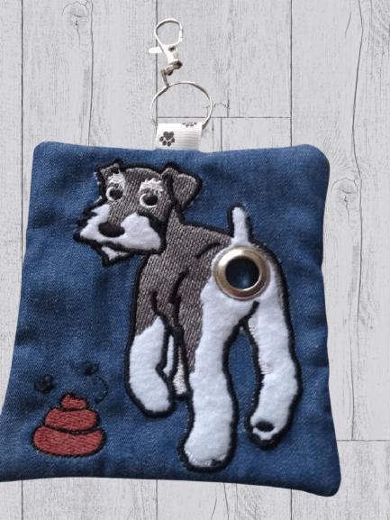 Schnauzer Eco Plastic Free Dog Poo Bag Holder Kind Shop 2