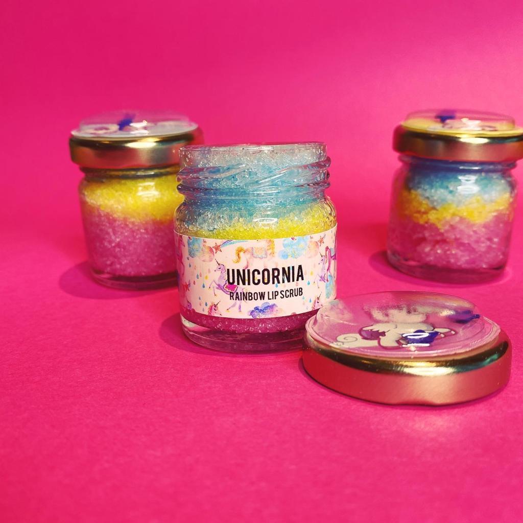 Unicornia Rainbow Lip Scrub Kind Shop 2