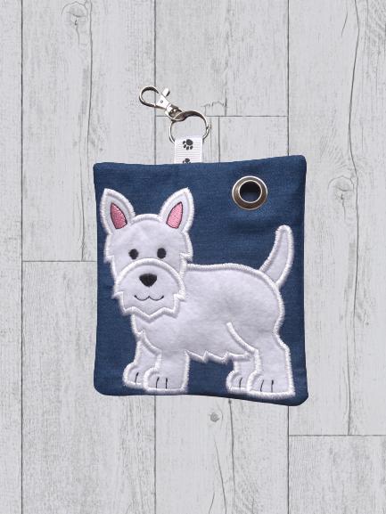 West Highland Terrier Eco Plastic Free Dog Poo Bag Holder Kind Shop