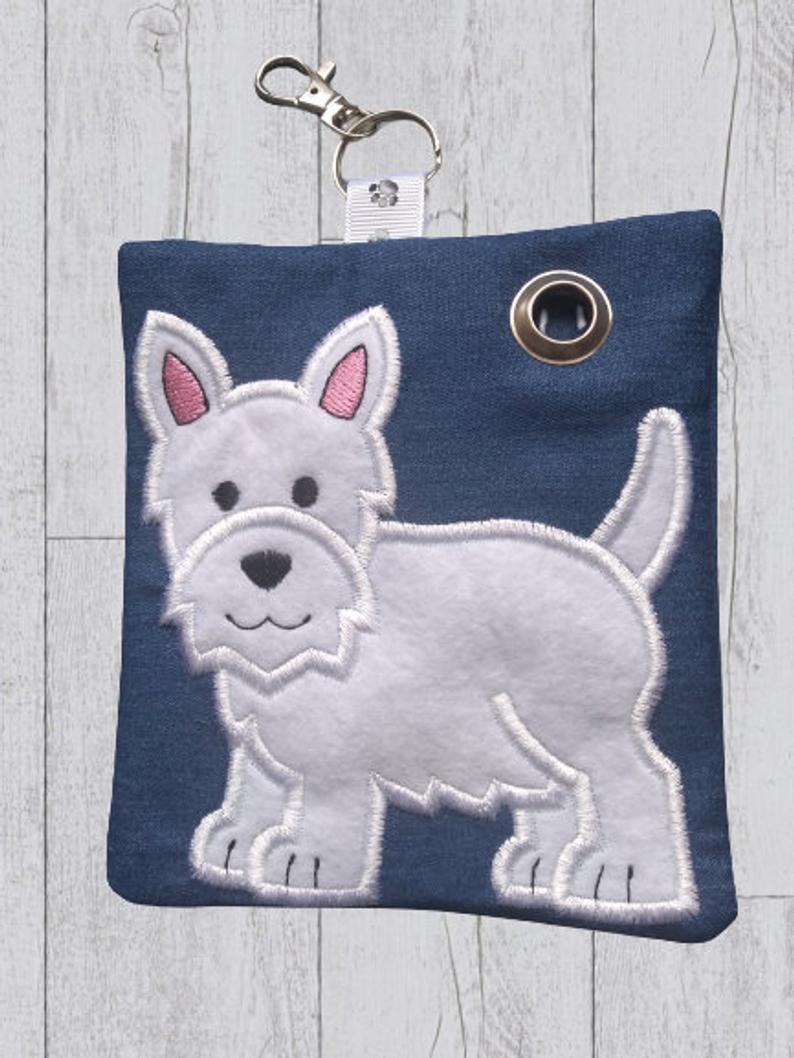 West Highland Terrier Eco Plastic Free Dog Poo Bag Holder Kind Shop 2