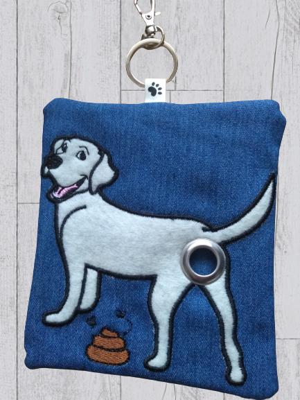 Labrador Eco Plastic Free Dog Poo Bag Holder – White Kind Shop 2