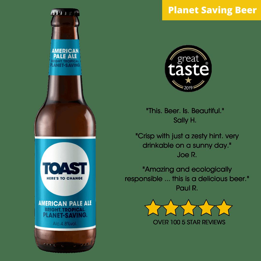 Toast Ale Bottled APA Bread Beer (American Pale Ale)