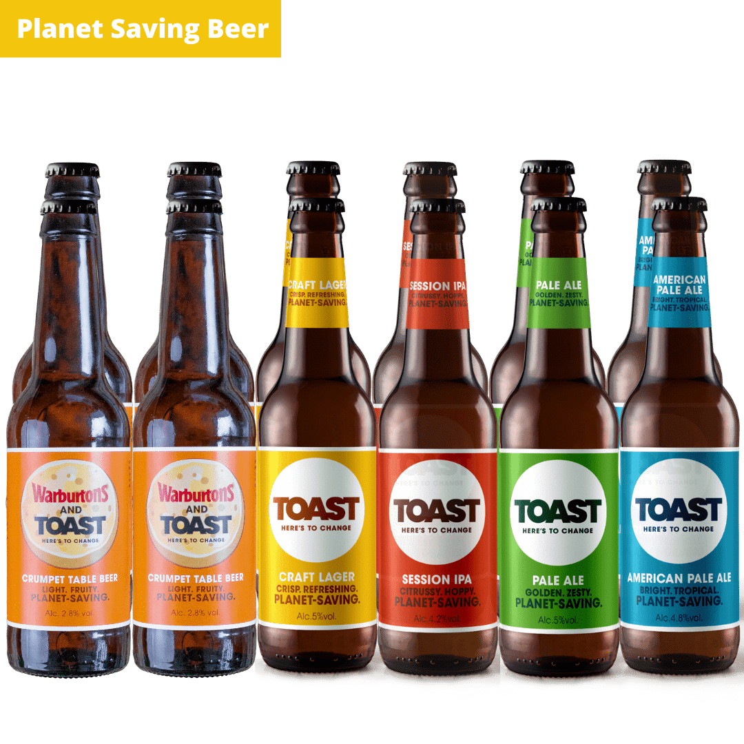 Toast Ale Bottled Bread Beer Mixed Case Full Selection Box Vegan