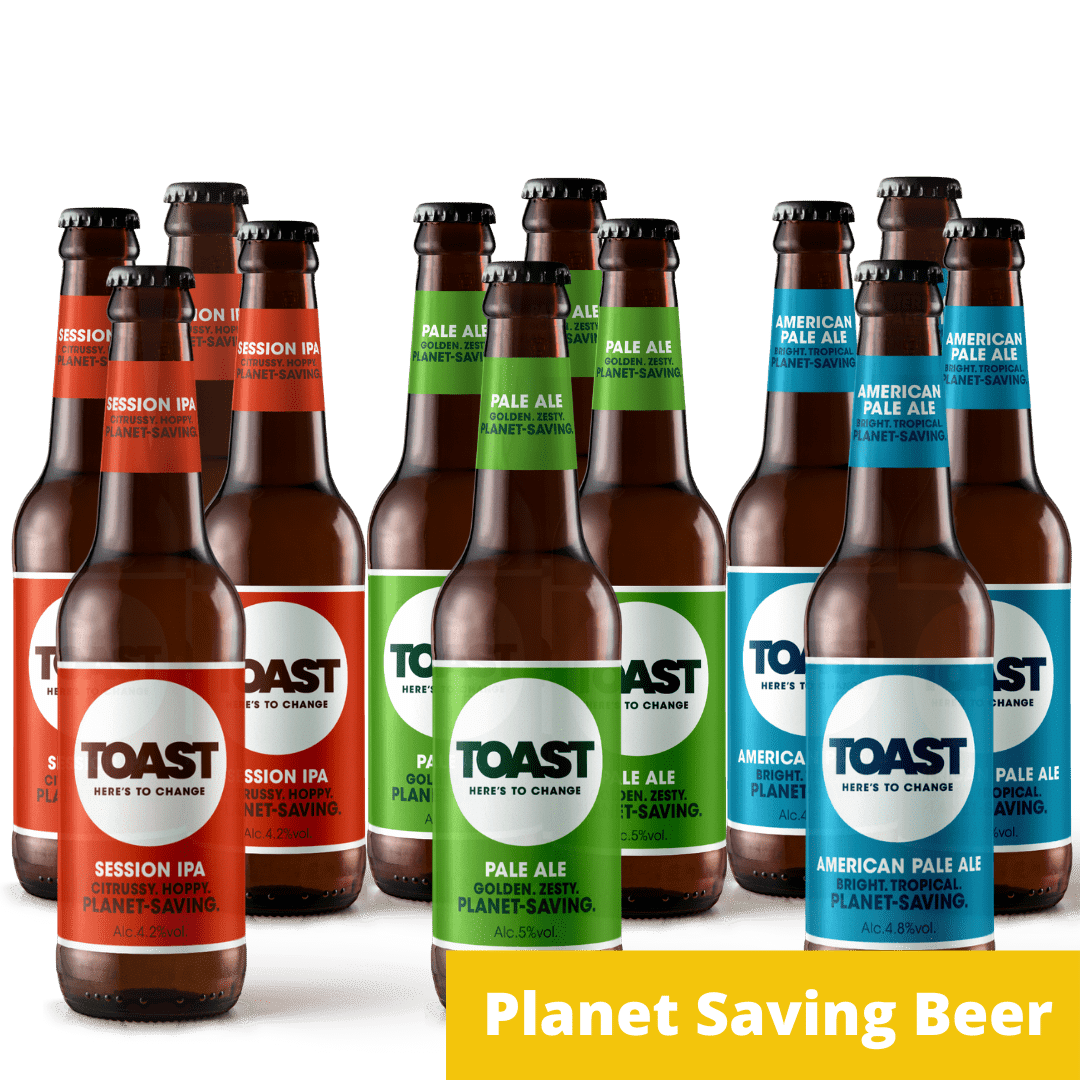 Toast Ale Bottled Bread Beer Mixed Case