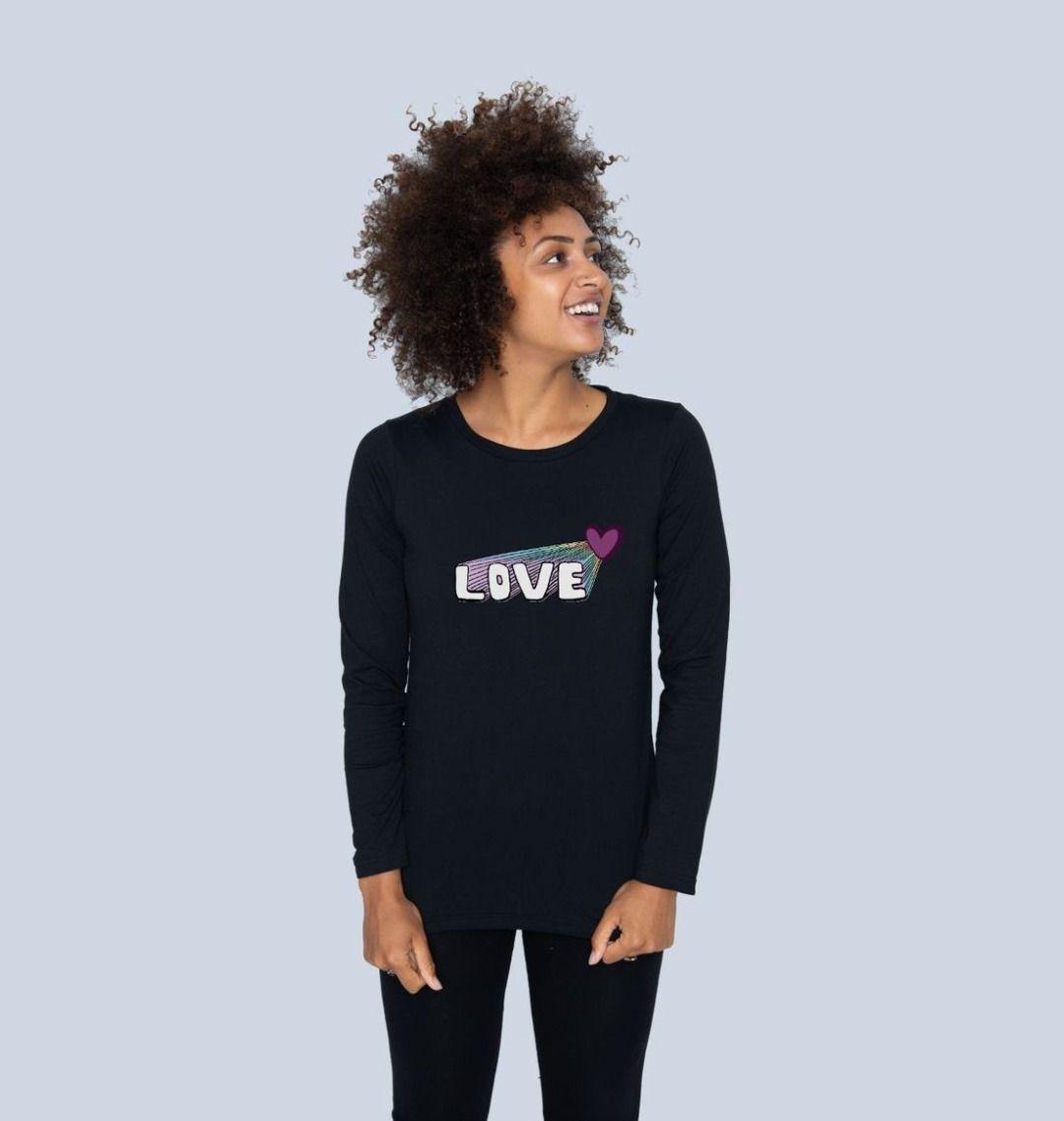 Women's Let Your Love Shine Longsleeve Top Kind Shop 4