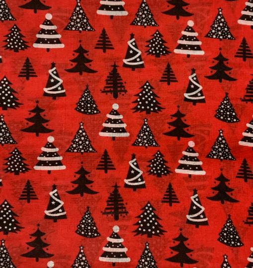 Set of 3 Reusable Christmas Fabric Gift Bags with Handles Active Kind Shop 8