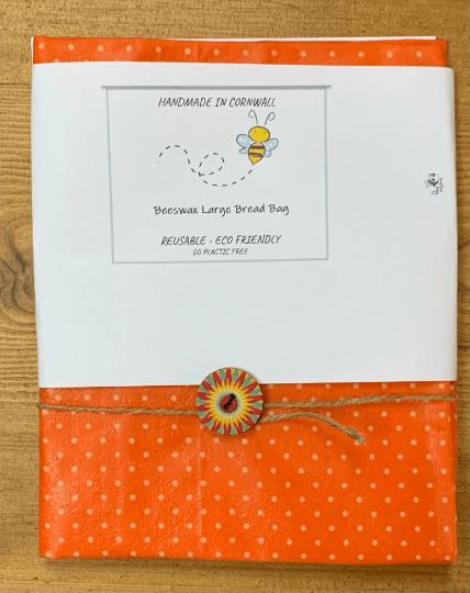 Beeswax Bread Bag – Large Kind Shop 5