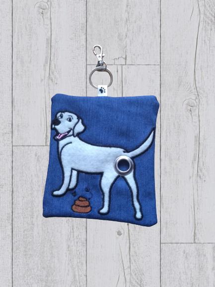 Labrador Eco Plastic Free Dog Poo Bag Holder – White Kind Shop
