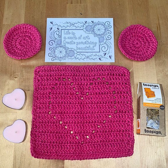 Positivi-TEA letterbox gift set. Kind Shop 3