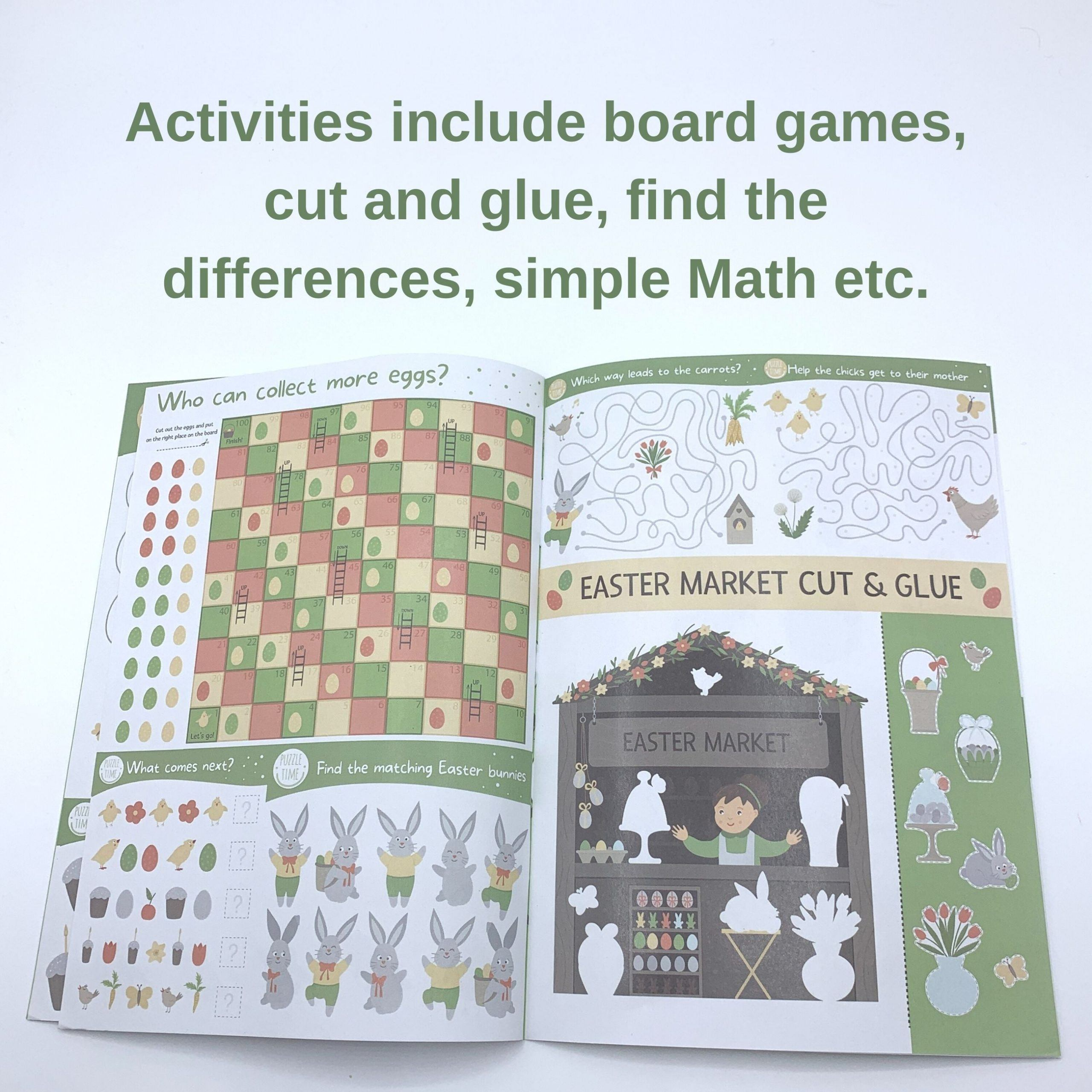 Easter Activity Booklet