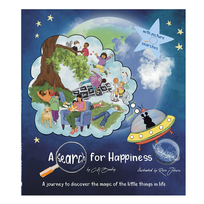 'A Search for Happiness' children's picture story book Kind Shop