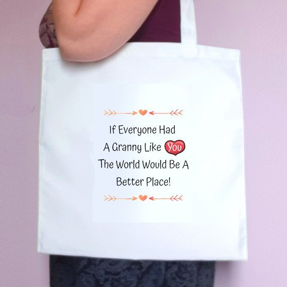 Personalised Mothers Day Eco Friendly Fold Flat Tote Bag – Mum Stepmum Granny like you Kind Shop 3