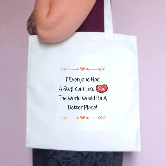 Personalised Mothers Day Eco Friendly Fold Flat Tote Bag – Mum Stepmum Granny like you Kind Shop 4