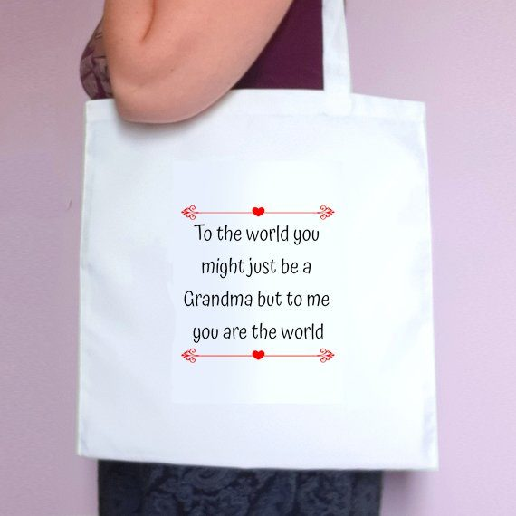 Personalised Sentimental Eco Friendly Fold Flat Tote Bag Mothers Day Gift Mum Gift Kind Shop 3