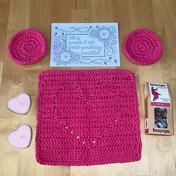 Positivi-TEA letterbox gift set. Kind Shop 2