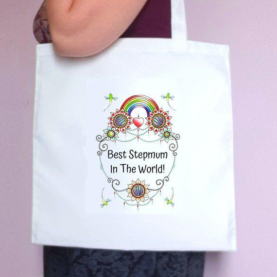 Personalised Mothers Day Tote Bag – Best Mum Stepmum Grandma In The World – Mum Gift Kind Shop 4