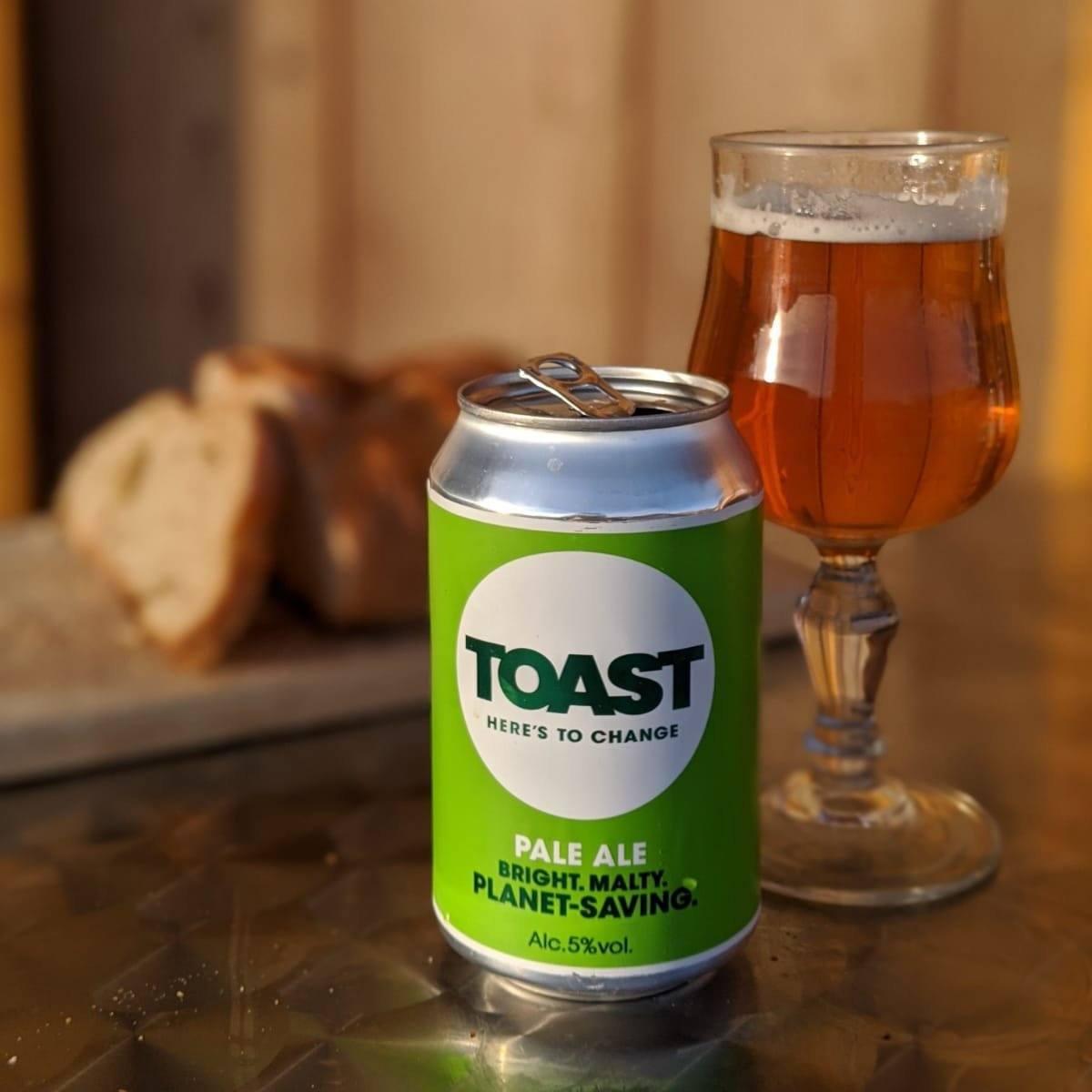 Toast Ale Canned Bread Beer Pale Ale Vegan beer