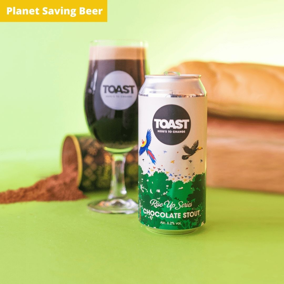 Toast Ale Canned Divine Chocolate Stout Bread Beer