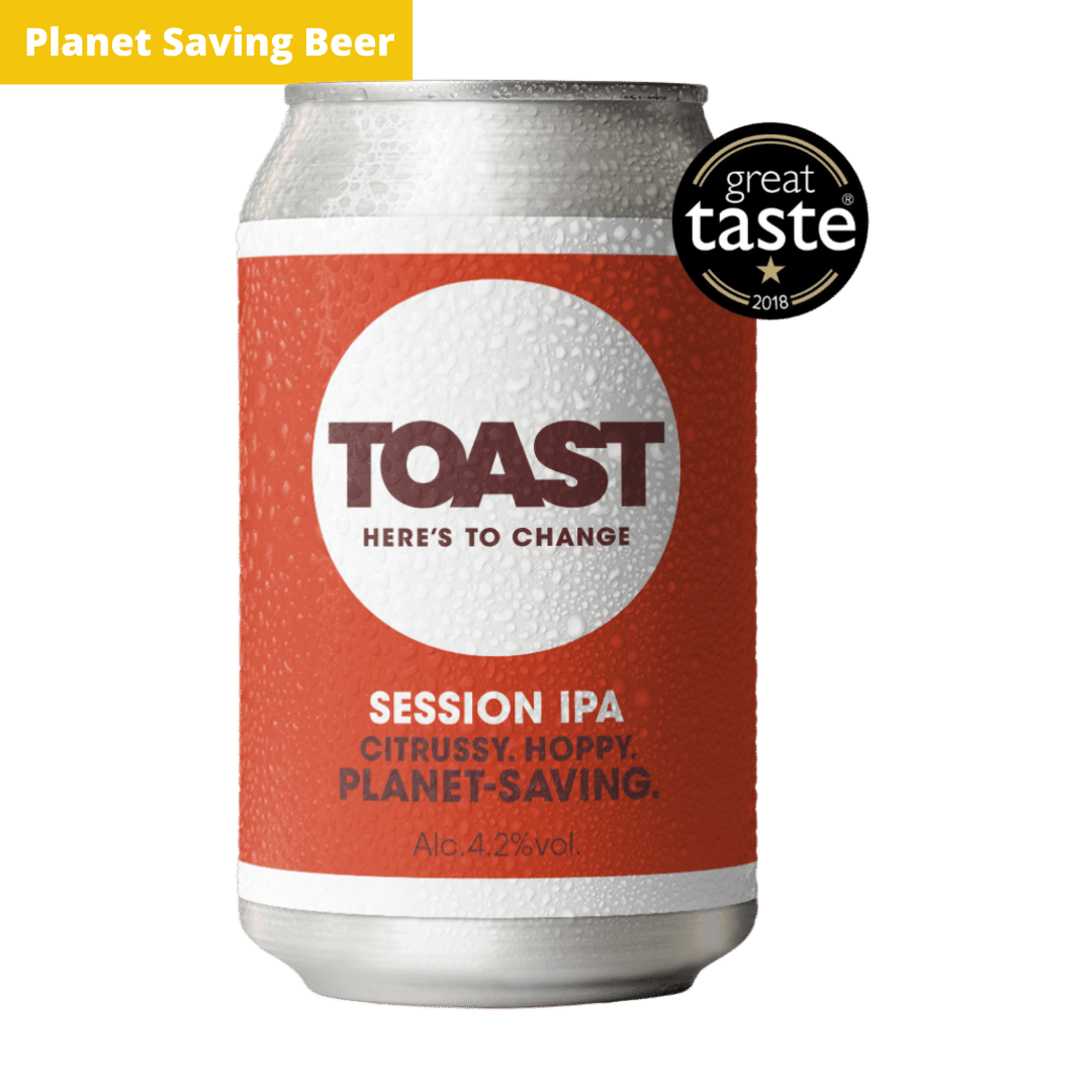 Toast Ale Canned IPA Bread Beer (India Pale Ale)