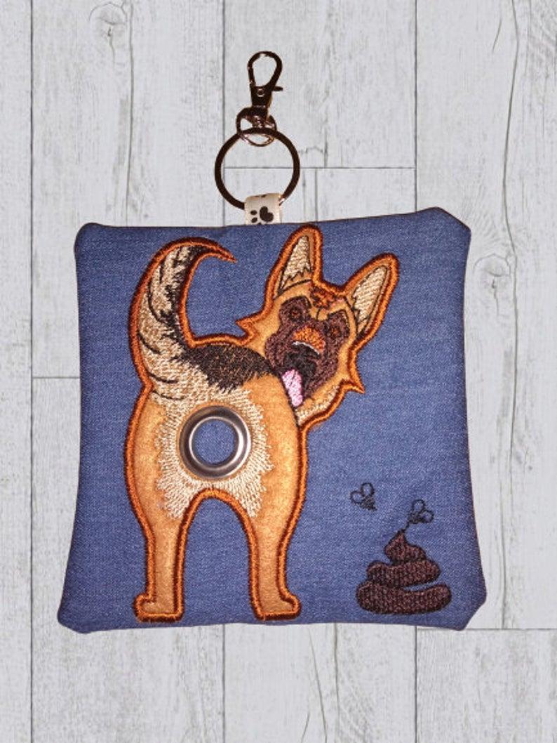 German Dog Eco Plastic Free Dog Poo Bag Holder Kind Shop