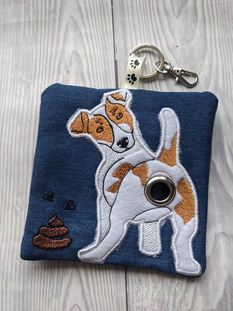 Jack Russell Eco Plastic Free Dog Poo Bag Holder Kind Shop